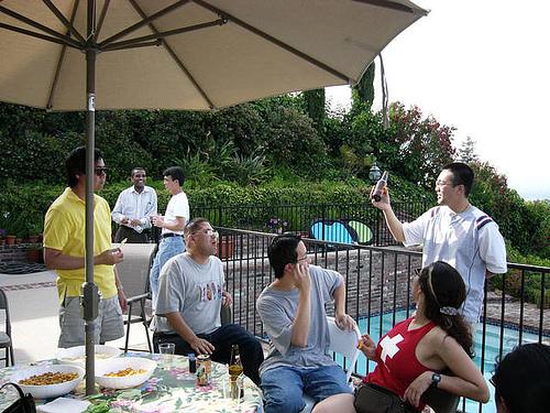 Party at Joe's house